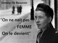 Alice Jardine intervista Simone de Beauvoir