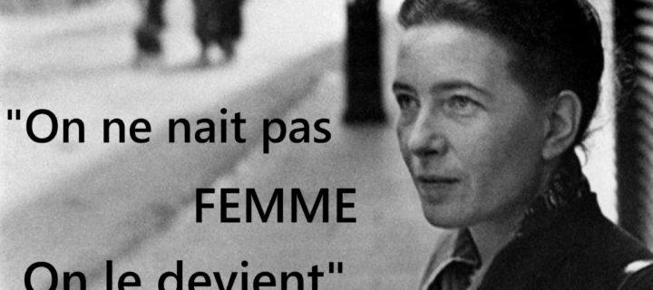 Alice Jardine intervista Simone de Beauvoir