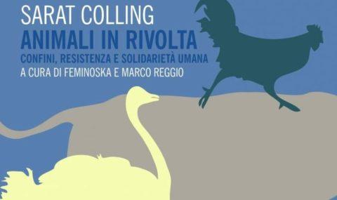"Sarat Colling<a href=""#nota1″ name=""testo1″><sup>1</sup></a>, Animali in rivolta. Confini, resistenza e solidarietà umana, Trad. it. Les Bitches<a href=""#nota2″ name=""testo2″><sup>2</sup></a>  (a cura di), Mimesis ed., Milano-Udine 2017"