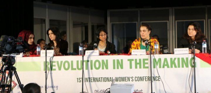 """Risoluzionefinaledella Prima Conferenza Internazionale delle Donne """"Revolution in the Making"""""""
